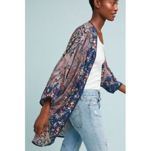 Anthropologie Jackets & Coats - ⭐️NWT Anthropologie Mahila Paulina Kimono One Size